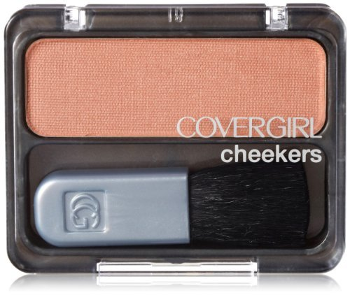 CoverGirl Cheekers Blush, Iced Cappuccino 130, 0.12 Ounce by COVERGIRL (Iced Blush)