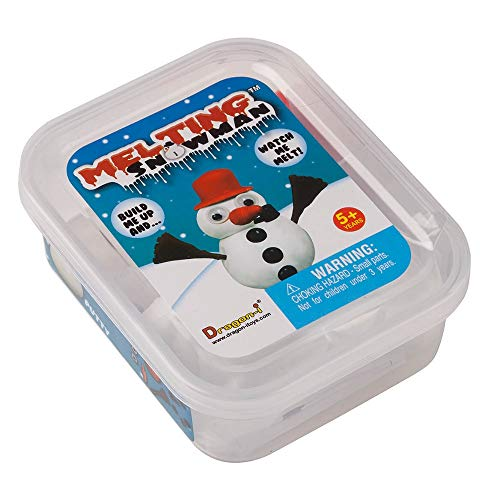 """Melting Snowman Kids Complete Play Set, Non-Toxic, 3"""" H, Indoor, Outdoor Fun"""