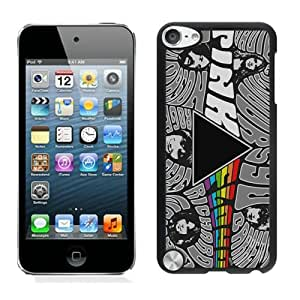 iPod Touch 5 Pink Floyd 1 Black Screen Cover Case Durable and DIY Skin