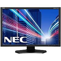 NEC Monitor PA242W-BK-SV 24.1-Inch Screen LED-Lit Monitor
