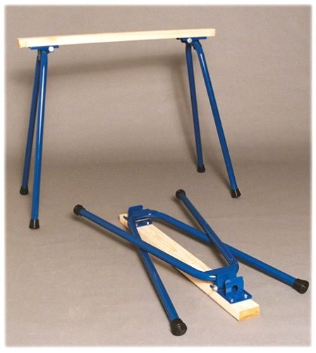 Target Precision RB-H1028 Rugged Buddy 28-Inch Folding Sawhorse Legs for One Complete Sawhorse