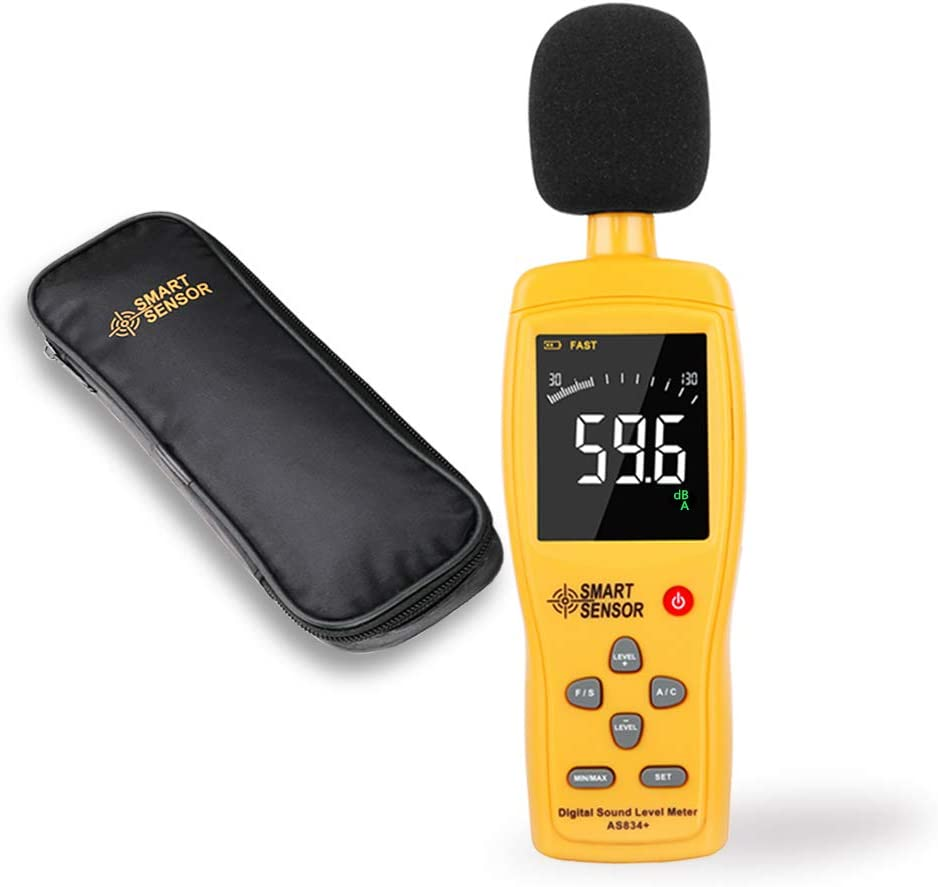 Noise Meter Portable Sound Meter Digital Detector for Individuals for Families
