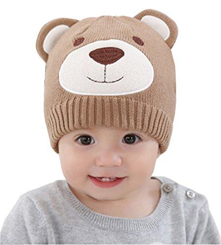 Cute Baby Child Pretty Bear Handmade Crochet Animal Cap Bear (Naughty School Girl Outfit Ideas)
