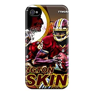 New Fashionable Melodycc TPv1678rswM Cover Case Specially Made For Iphone 4/4s(washington Redskins)