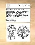 The English Compendium, Francis Nichols, 1171044534