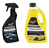 Meguiar's Complete Ultimate Wash & Wax and Ultimate Quik Detailer, 2 Items