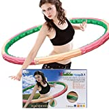 Magnetic Heavy Weight Health One Hoola Hoop 3.1kg 6.83lb for Diet Exercise