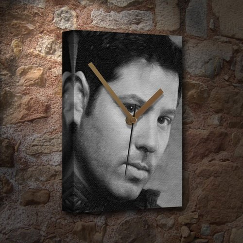 GREG GRUNBERG - Canvas Clock (LARGE A3 - Signed by the Artist) #js001 for $<!--$25.95-->