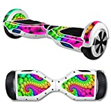 MightySkins Protective Vinyl Skin Decal for Hover Board Self Balancing Scooter mini 2 wheel x1 razor wrap cover sticker Hallucinate