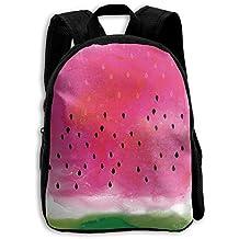 Watercolor Watermelon Kid Boys Girls Toddler Pre School Backpack Bags Lightweight