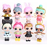LOL Dolls PVC Kawaii Surprise Doll Toys Action Figures 8pcs/Set