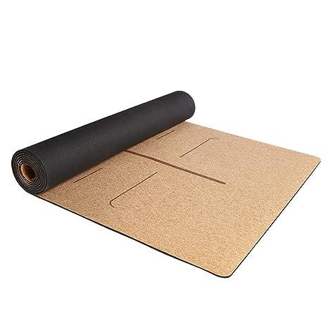 Amazon.com : ZJX-F Cork Yoga Mat, Male Female 4 Mm ...