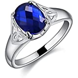 New Silver jewelry fashion trend crystal women simple ring jewelry hot gift (8)