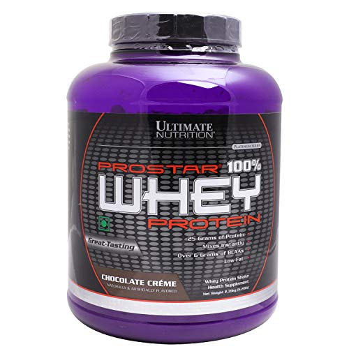 Ultimate Nutrition Prostar 100% Whey Protein - 5.28 lbs...