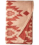 Pendleton Yuma Star Clay Organic Cotton Queen Bed Blanket