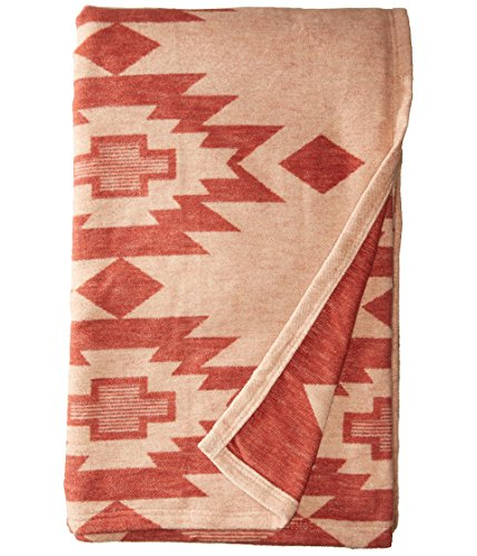 Pendleton Yuma Star Clay Organic Cotton Queen Blanket (Blanket Pendleton Cotton)
