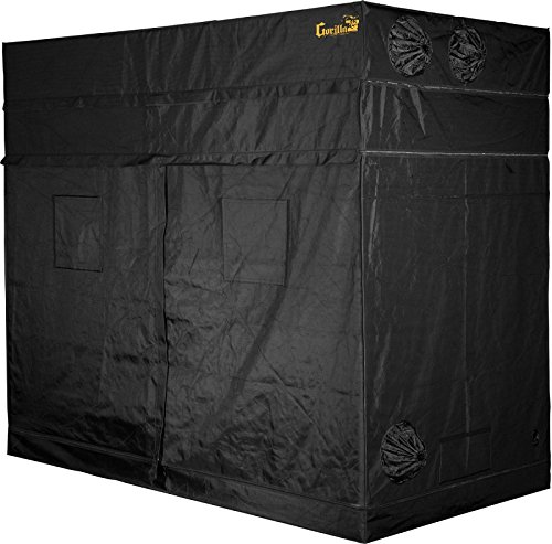 51qo7RQfH8L - Gorilla Grow Tent 5 x 9 2018 Model w/Free Extension !