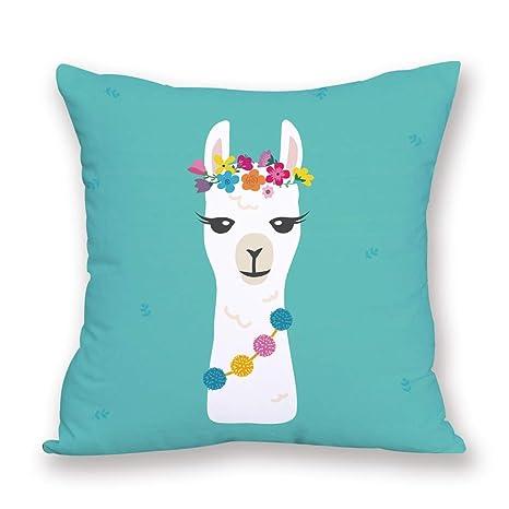 Amazon.com: Good4Yours Comfortable 4545cm Alpaca Pillow ...