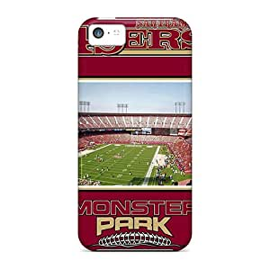 Defender Cases With Nice Appearance (san Francisco 49ers) For Iphone 5c