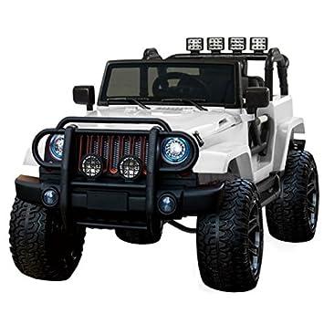 Voiture électrique 2 places 24V Jeep WXE Blanc - Pack Luxe  Amazon ... 6224a797de31