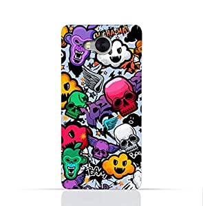 Huawei Y6 (2017) TPU Silicone Case With Funky Seamless Freak Texture