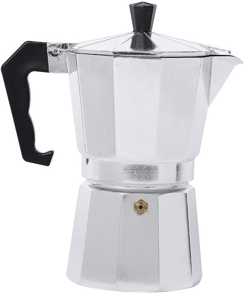 Cafetera Moka Espresso Percolator máquina de aluminio italiano ...