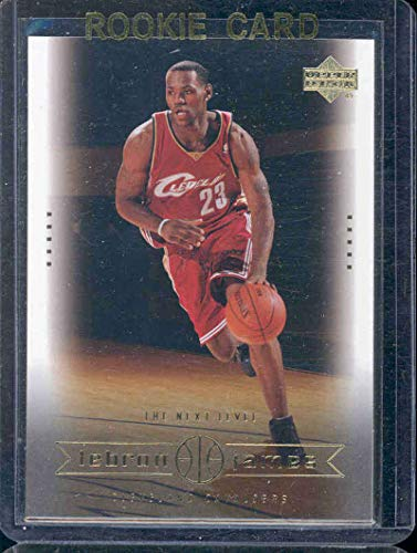 2003 Upper Deck #24 The Next Level Lebron James Rookie Card - Mint Condition Ships in a Brand New Holder Basketball 24 Pack Trading Cards