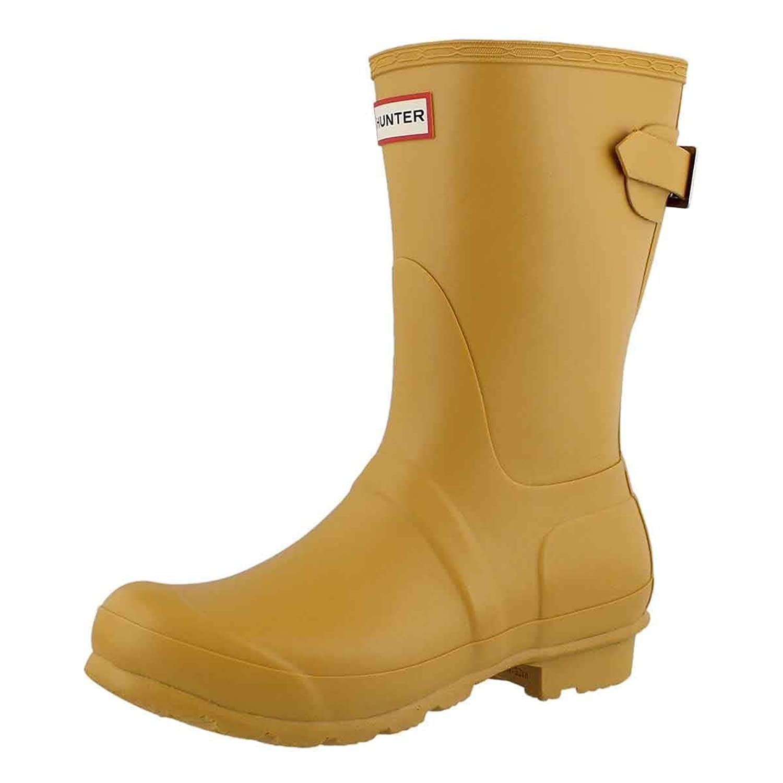 Hunter Boots Women's Original Back Adjustable Short Rain Boot B079NL2BLN 6 B(M) US