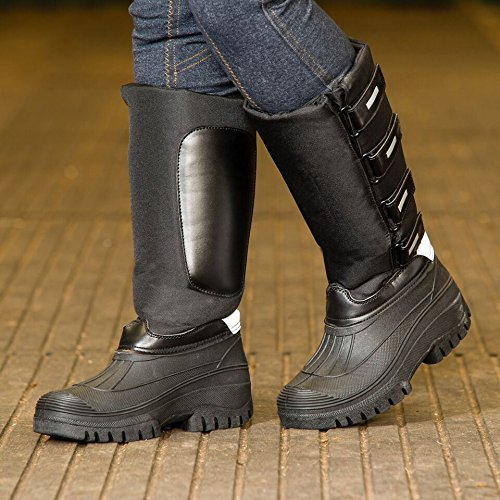 Tall Reflective Thermo Mucker/Snow Boots Burgundy, Navy, Black or Brown Black