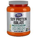 Now Sports Nutrition, Soy Protein Isolate Powder, Creamy Vanilla, 2-Pound