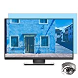 24 Inch Computer Anti Blue Light Screen Protector, Eye Protection Blue Light Filter Blocks Reduce Eye Fatigue and Eye Strain for 24 inches Widescreen Desktop Monitor