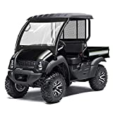 Mule 610 600 SX Front Windshield for Kawasaki Mule 600 610 4x4 / 610 4x4 XC 2015 2016 2017 2018 2019 KEMIMOTO UTV Front Windshield