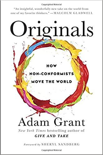 Image result for Originals: How Non-Conformists Move The World