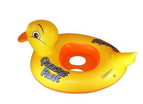 Pato flotadores de piscina para bebé toddle agua juguetes