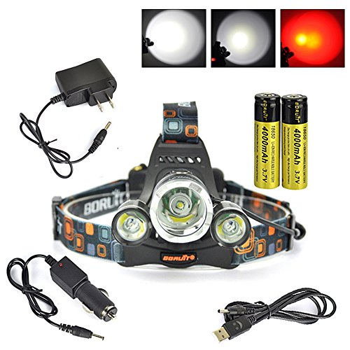 Boruit Headlamp Red Light Rechargeable product image