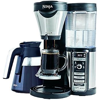 Amazon.com: Ninja CF097 Coffee Bar, Black/Silver Includes ...