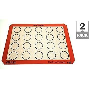 Amazon Com Silpat Ae420295 22 Macaron Mat 2 Pack