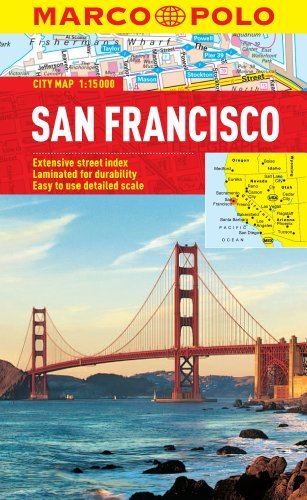 San Francisco Marco Polo City Map (Marco Polo City Maps) by Marco Polo Travel Publishing - San Marcos Shopping