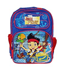 Disney Jake Neverland Pirates 16 Full Size School Bag Backpack