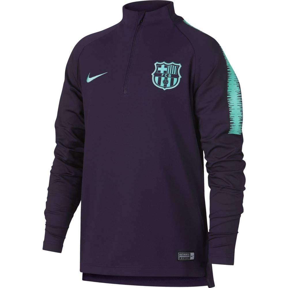 fd7f27d7c Amazon.com   Nike 2018-2019 Barcelona Drill Training Top (Purple Dynasty) -  Kids   Sports   Outdoors