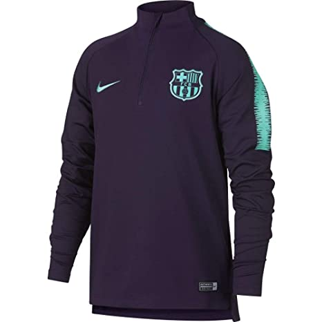 22429daca Nike FC Barcelona SQUAD Dry Drill Children s Long-Sleeved T-Shirt ...
