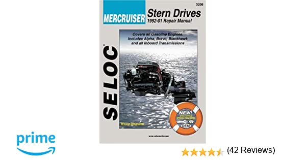 Mercruiser stern drives 1992 2001 repair manual seloc mercruiser stern drives 1992 2001 repair manual seloc 9780893300531 amazon books fandeluxe Gallery