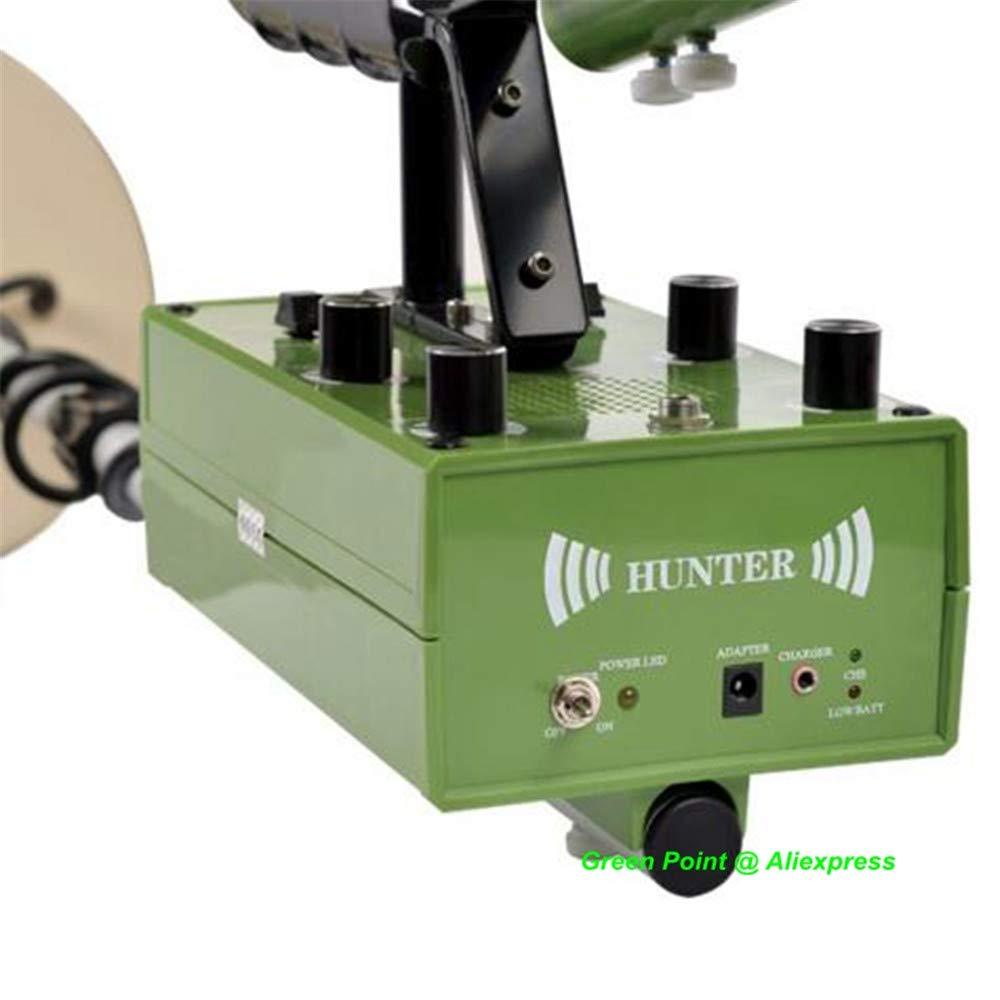 QUARK Profundidad de detección de 5m Detector de Metales subterráneo Gold Digger Cazador de Oro Detector de Nugget buscador: Amazon.es: Hogar