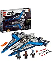 LEGO 75316 Star Wars Mandalorian Starfighter Building Toy, The Clone Wars Set with 3 Minifigures
