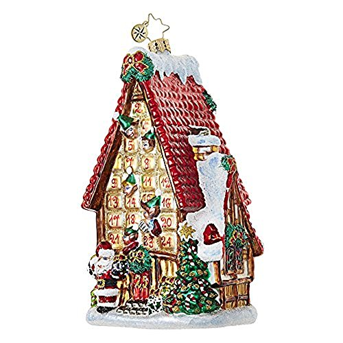 Christopher Radko Countdown Cottage Cottages & Houses Christmas Ornament