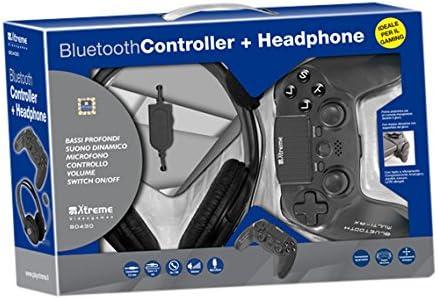 Xtreme 90430 Gamepad PlayStation 4 Negro mando y volante - Volante/mando (Gamepad, PlayStation 4, Analógico/Digital, D-pad, Seleccionar, Inicio, Inalámbrico, Bluetooth): Amazon.es: Videojuegos