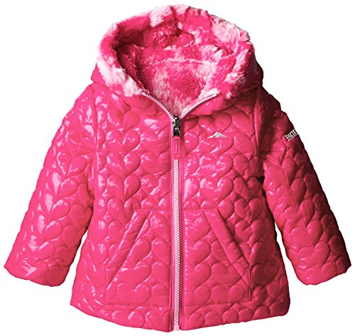 Pacific Trail Little Girls' Reversible Color Faux Fur, used for sale  Delivered anywhere in USA