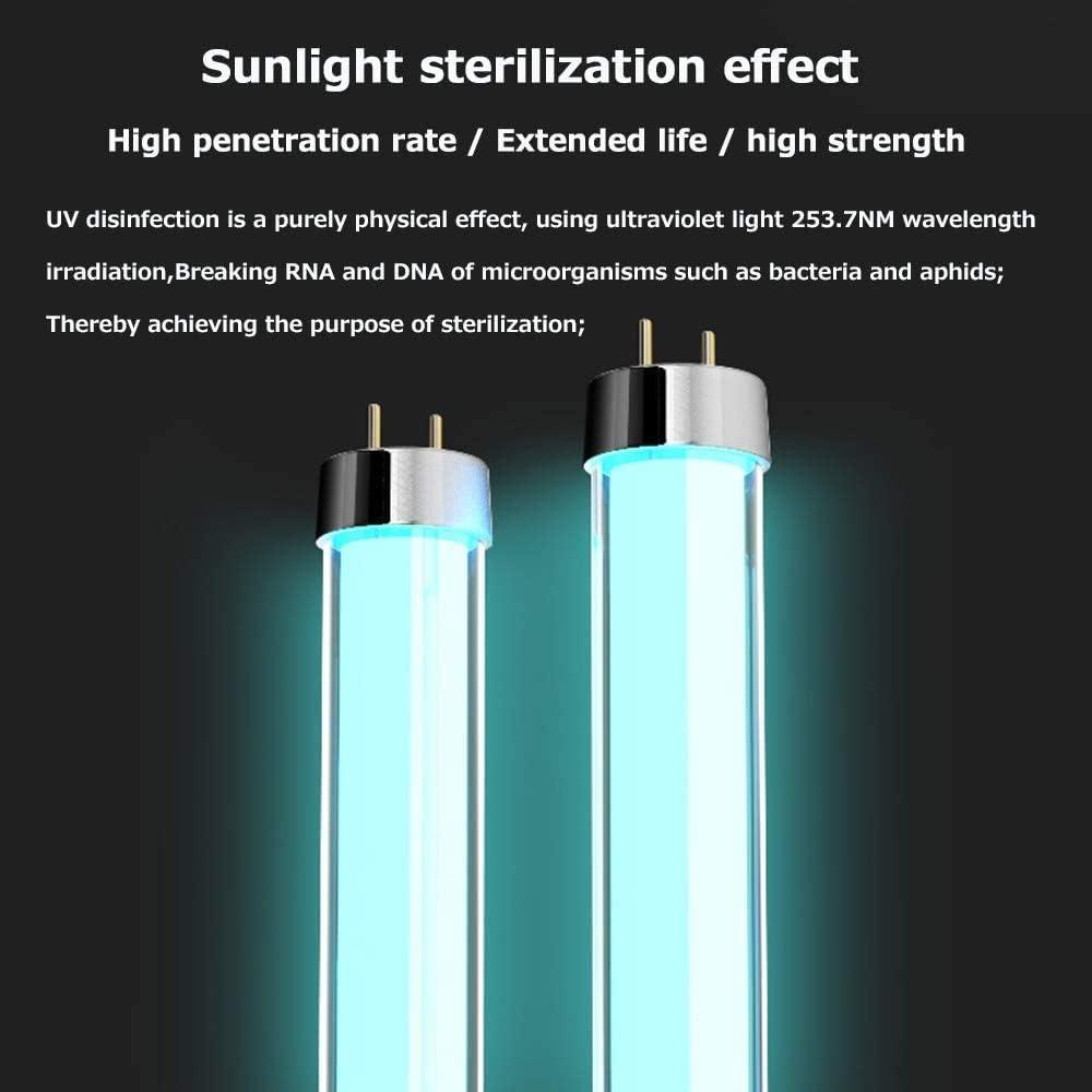 MGKMG Ultraviolet Disinfection Lamp Intelligent Remote Ozone Disinfection Quartz Glass Tube has Good Sterilization Effect