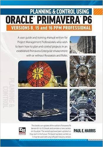 Amazon. Com: planning and control using oracle primavera p6.