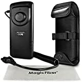 External Flash Battery Pack Replacement for CP-E4 for CANON Speedlite 600EX, 580EX II, 580EX, 550EX, MT-24EX, MR-14EX, Yongnuo 565ex, Nissin Di866 Mk1 Flashes + MagicFiber Microfiber Cleaning Cloth